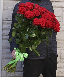 букет розы красные фото
